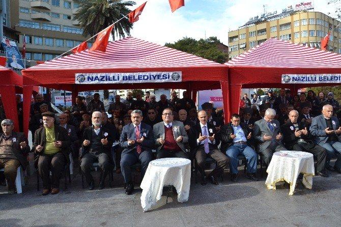 Nazilli'de Sarıkamış Şehitleri Anıldı