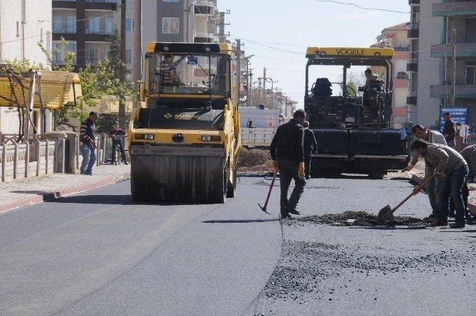 Niğde Belediyesi Asfaltta Rekor Kırdı