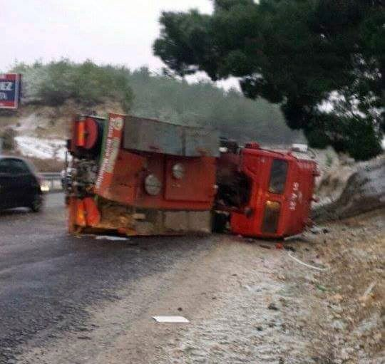 Arazöz Devrildi, 5 Orman İşçisi Yaralandı