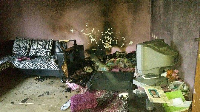 Bir Evde 2 Ayrı Noktada Yangın