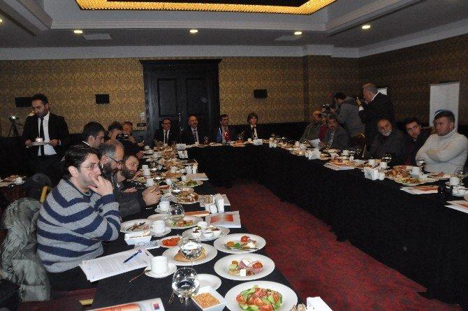 Etkin Rehberlik Ve Denetim Yoluyla Kayıtlı İstihdamın Teşviki Projesi Tanıtım Toplantısı Gerçekleşti
