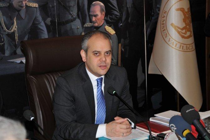 Samsun'da devam eden ve yapılacak yatırımlar masaya yatırıldı
