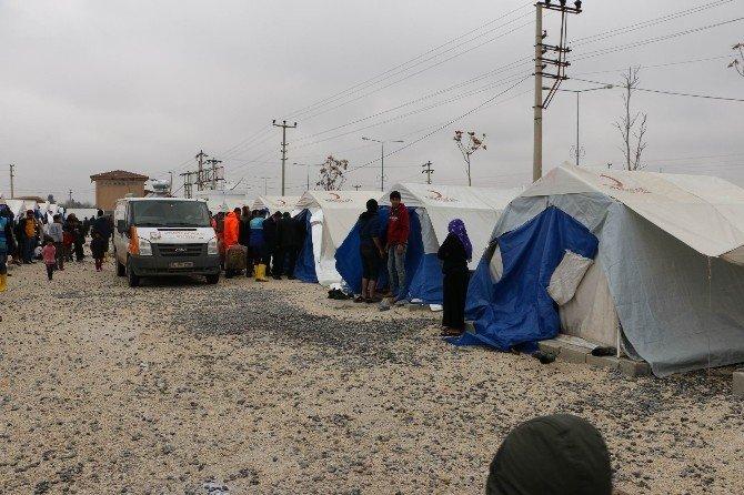 Şanlıurfa'da 550 Suriyeli Aileye Yardım