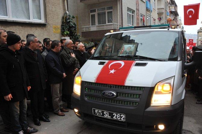 Şehit Uzman Çavuş Özdemir'in cenazesi memleketine gönderildi