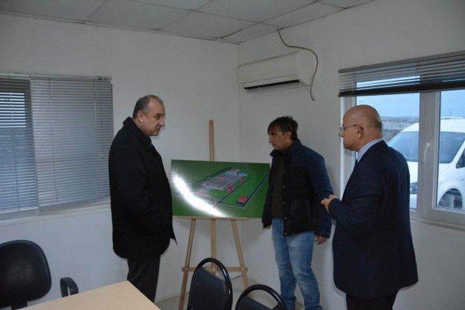 Teski Genel Müdürü Başa, Çorlu İleri Biyolojik Atıksu Arıtma Tesisi'ni İnceledi