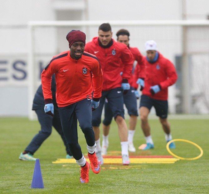 Trabzonspor, Adanaspor Maçının Hazırlıklarını Sürdürdü