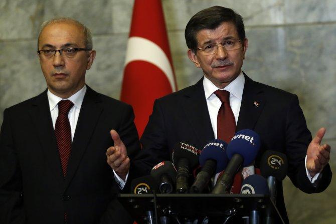 Davutoğlu: Meclis Başkanı'nın devreye girmesini istedim