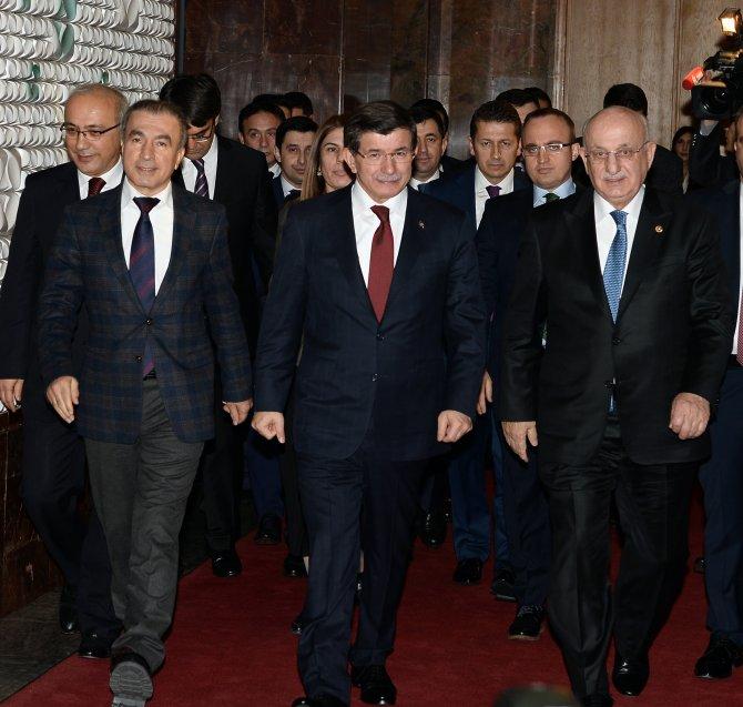 TBMM Başkanı ile Başbakan Davutoğlu görüşmesi başladı
