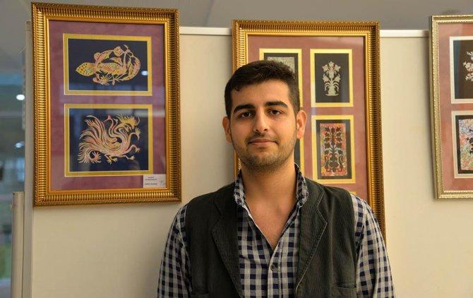 Süsleme sanatı 'kaat'ı eserleri sergileniyor