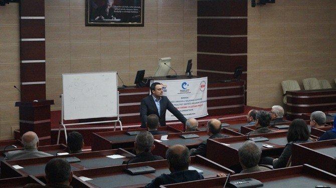 Erzurum Yatırım Ortamı Geliştirme Projesi Sona Erdi