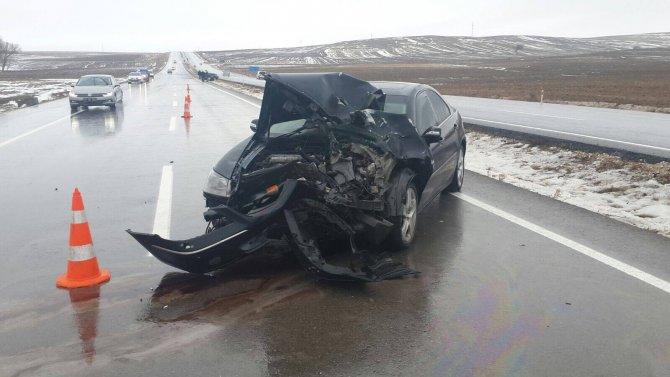 Yozgat'ta trafik kazası: 5 yaralı