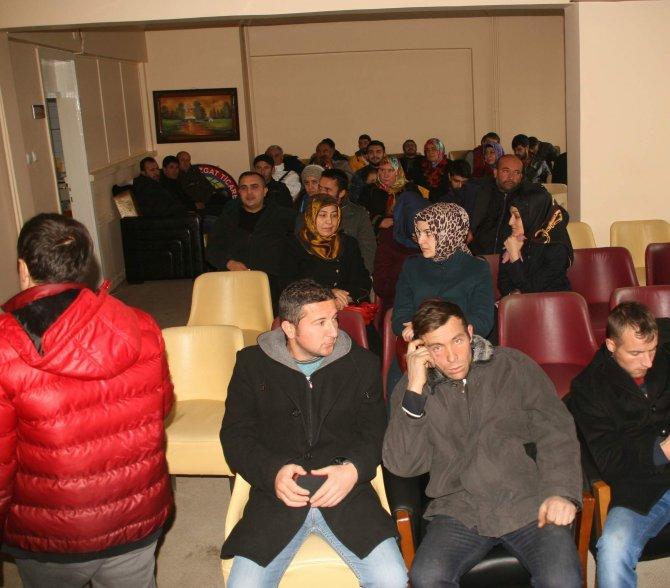 30 kişilik girişimcilik kursuna 350 kişi müracaat etti