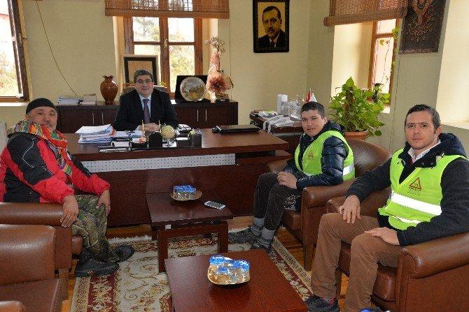 Kazakistan'dan Yola Çıkan Syzbayev Ve Bekbolat Bilecik'e Ulaştı