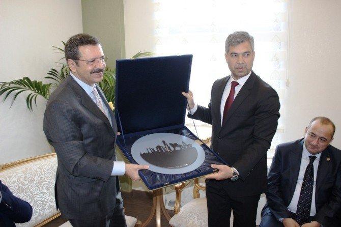 TOBB Başkanı Hisarcıklıoğlu Çanakkale'de