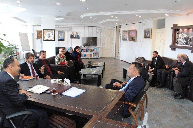 AK Parti İl Teşkilatı'ndan Başkan Özaltun'a Ziyaret