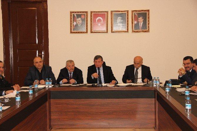 AK Parti Trabzon İlçe Başkanları Ve İlçe Belediye Başkanları Toplantısı