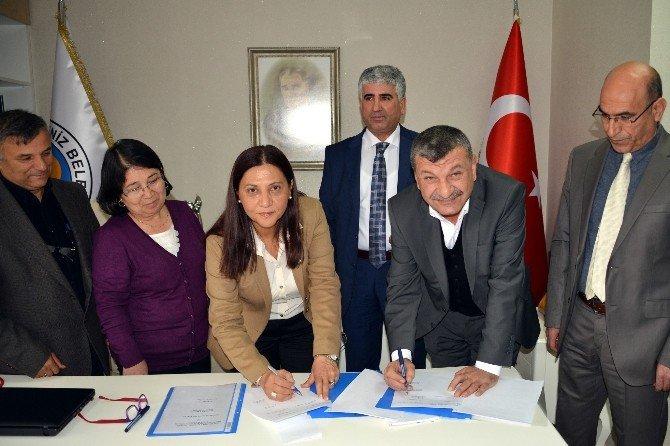 Akdeniz Belediyesi'nde Toplu Sözleşme Sevinci