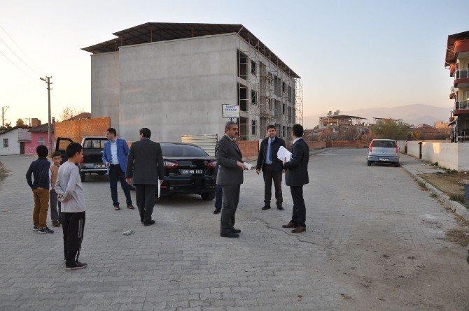 Başkan Alıcık, Çapahasan Mahallesini İnceledi