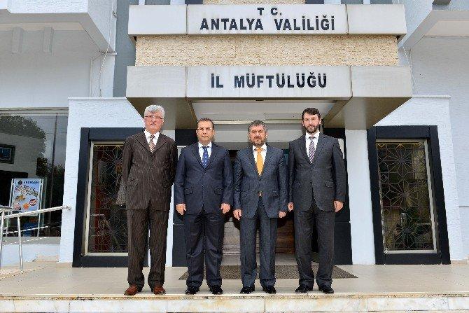 Vali Türker'den İl Müftülüğü Ve Karayollarına Ziyaret
