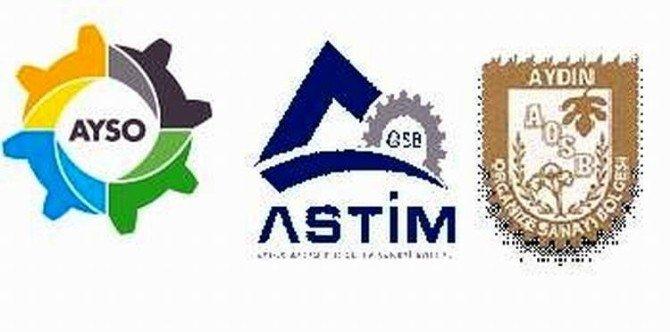 Ayso, Astim Ve Aydın OSB'den Enerji Bakan Yardımcı Alaboyun'a Ziyaret