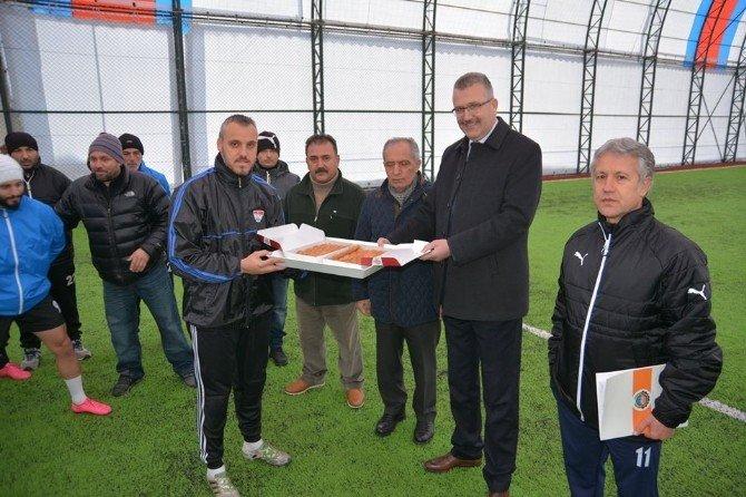 Karacabey Belediyespor'da Hedef Bal Ligi