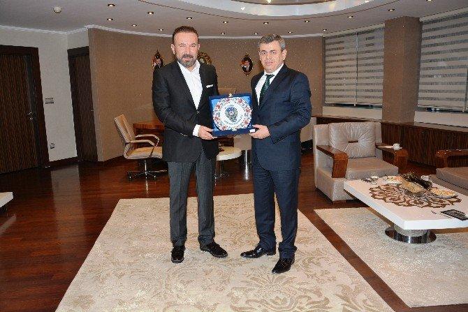 Emniyet Müdürlerinden Başkan Doğan'a Ziyaret