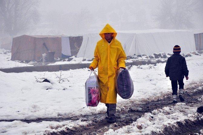 İHA'nın Haberi SES Getirdi, Mülteci Ailelere Ev Tahsis Edildi