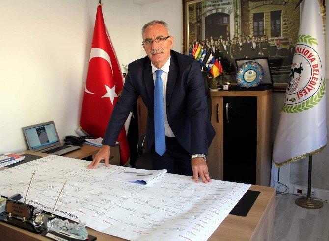 """Başkan Gürşat Kale; """"2016 Hizmet Yılı Olacak"""""""