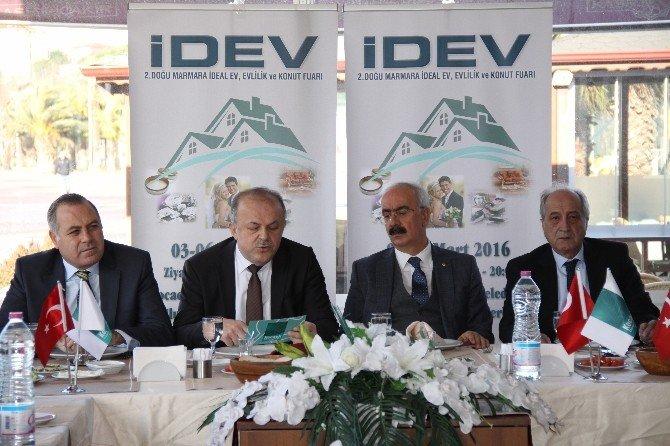 Evlilik Ve Konut Fuarı Doğu Marmara'ya Açıldı