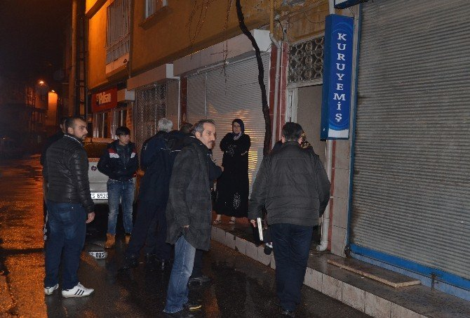Bursa'da Bir Eve Molotoflu Saldırı