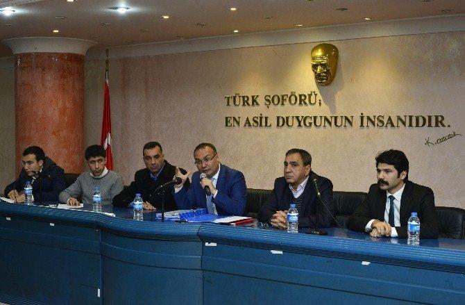 Mersin'de Taksiler Daha Güvenli Hale Geliyor