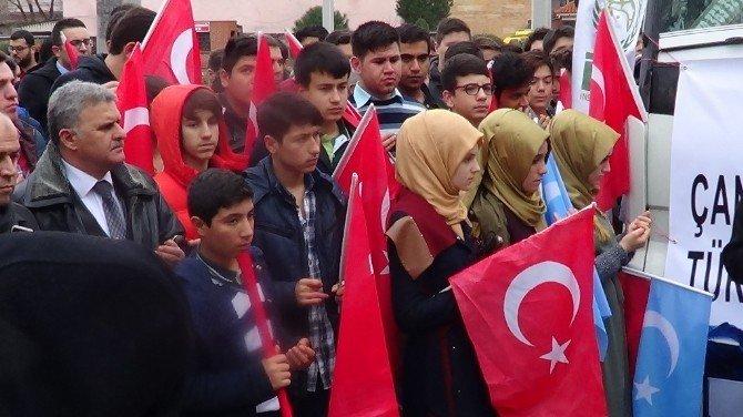 Bayırbucak Türkmenlerine Çanakkale'den Yardım
