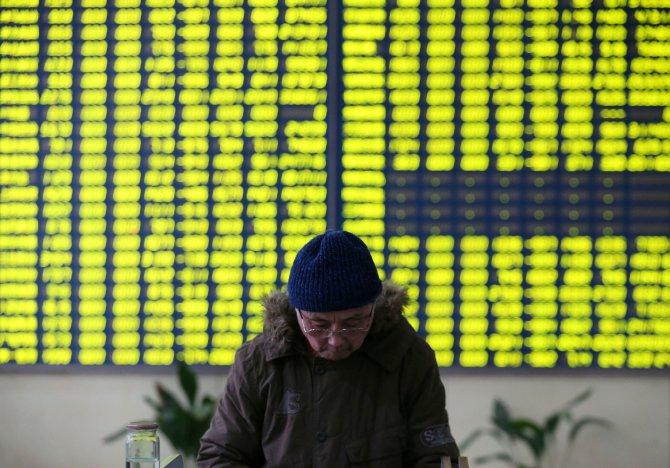 Çin borsasında yine yüzde 7 kayıp yaşandı, işlemler durduruldu