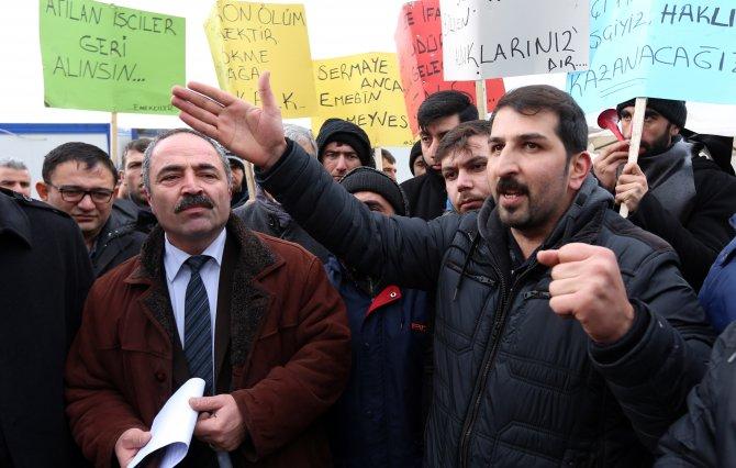 Sendikalı diye işten çıkarılan Çorum'daki kağıt işçileri, Salim Uslu'ya seslendi