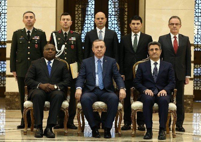 Svaziland Büyükelçisi'nden Cumhurbaşkanı Erdoğan'a Güven Mektubu