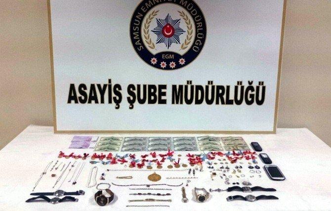 Profesör Çiftin Altın Ve Paralarını Alan Dolandırıcılar Yakalandı
