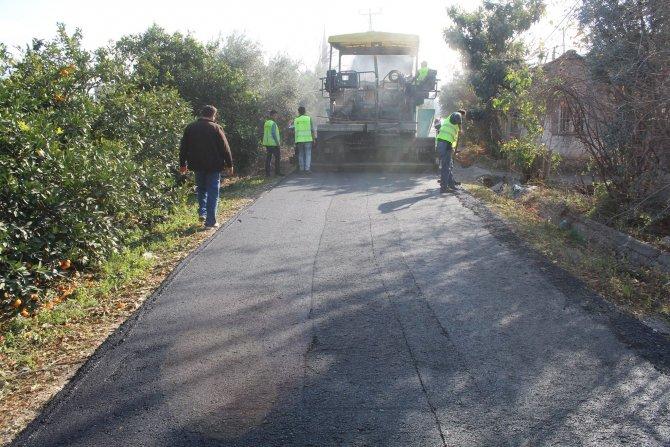 Dörtyol Belediyesi, asfalt çalışmalarını sürdürüyor