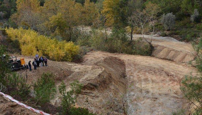 Alanya Yeniköy Barajında Çalışmalar Devam Ediyor