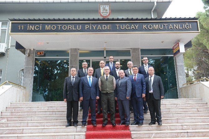 DTO Heyeti Tugay Komutanını Ve Cumhuriyet Başsavcısını Ziyaret Etti