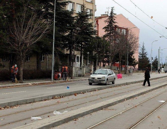 Eskişehir'de Lodos