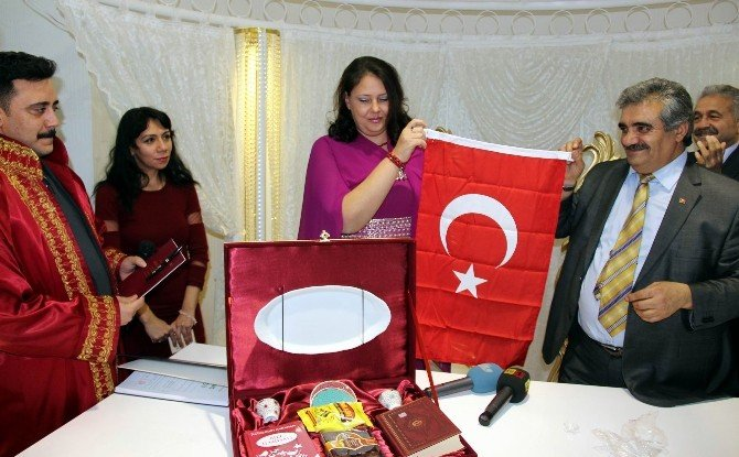 Kayseri'ye Rus Gelin