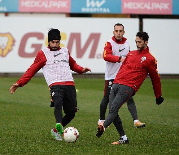 Galatasaray'da çalışmalar Florya'da devam ediyor