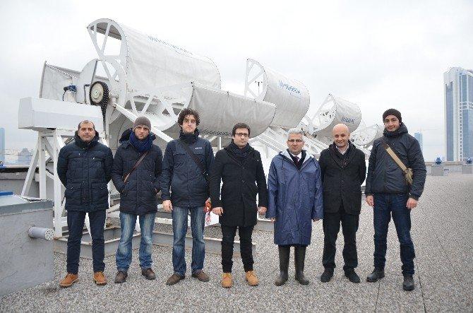 İstanbul Adalet Sarayı'nın Elektriği Rüzgâr Türbinlerine Emanet