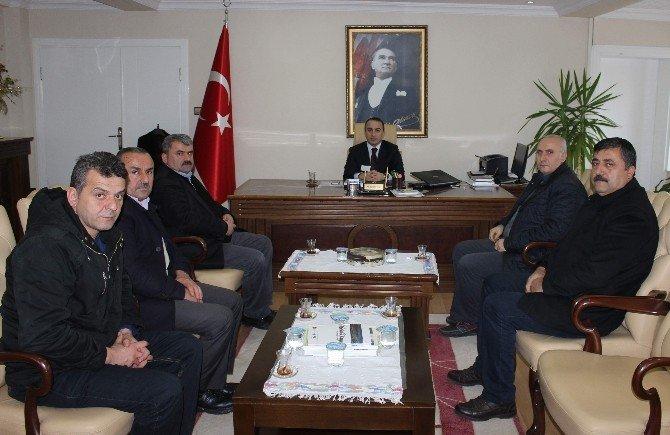 Öz Orman İş'ten Kaymakam Erdoğan'a Ziyaret