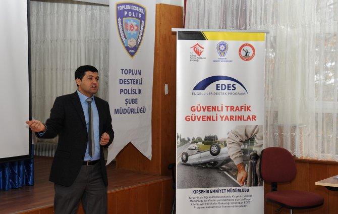 Toplum Destekli Polislik'ten trafik güvenliği eğitimi