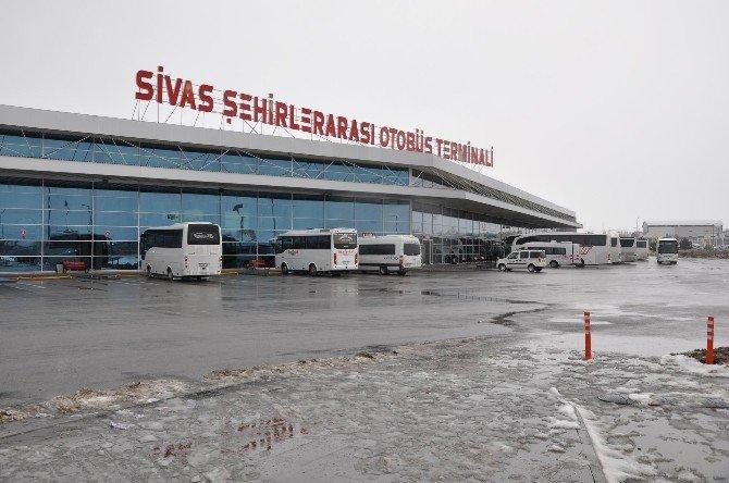 Sivas'ta Yolcu Otobüslerine Sıkı Denetim