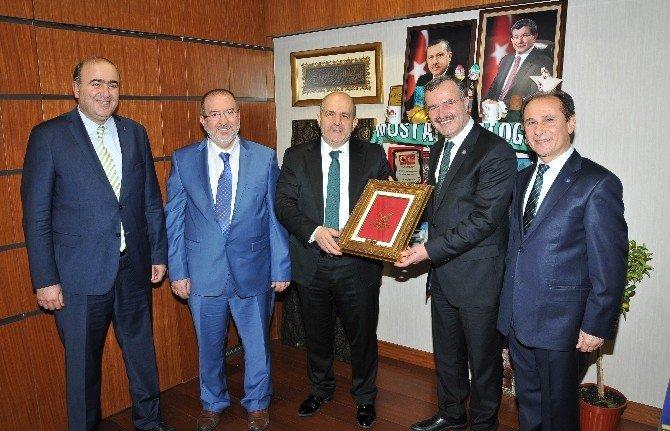 KSO'dan Konya Milletvekillerine Ziyaret