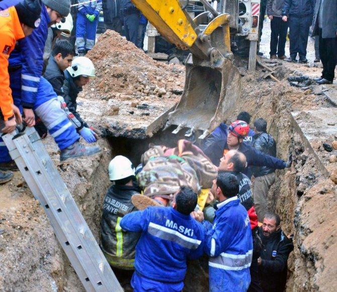 Malatya'da iş kazası: Kanalizasyon çalışmasında göçük altında kalan işçi öldü