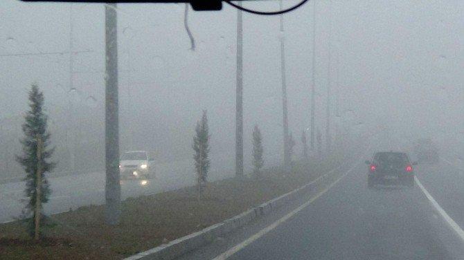Malatya'da Sisli Hava Etkili Oluyor
