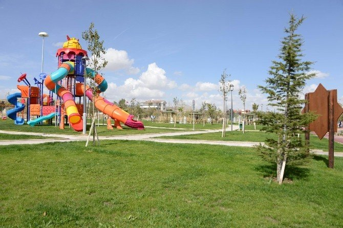 2015'te Meram'a 27 Park Yapıldı
